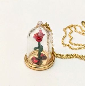 New necklace Disney Couture beauty and the beast